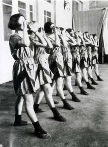 Soviet playsuits by Varvara Stepanova, 1920.